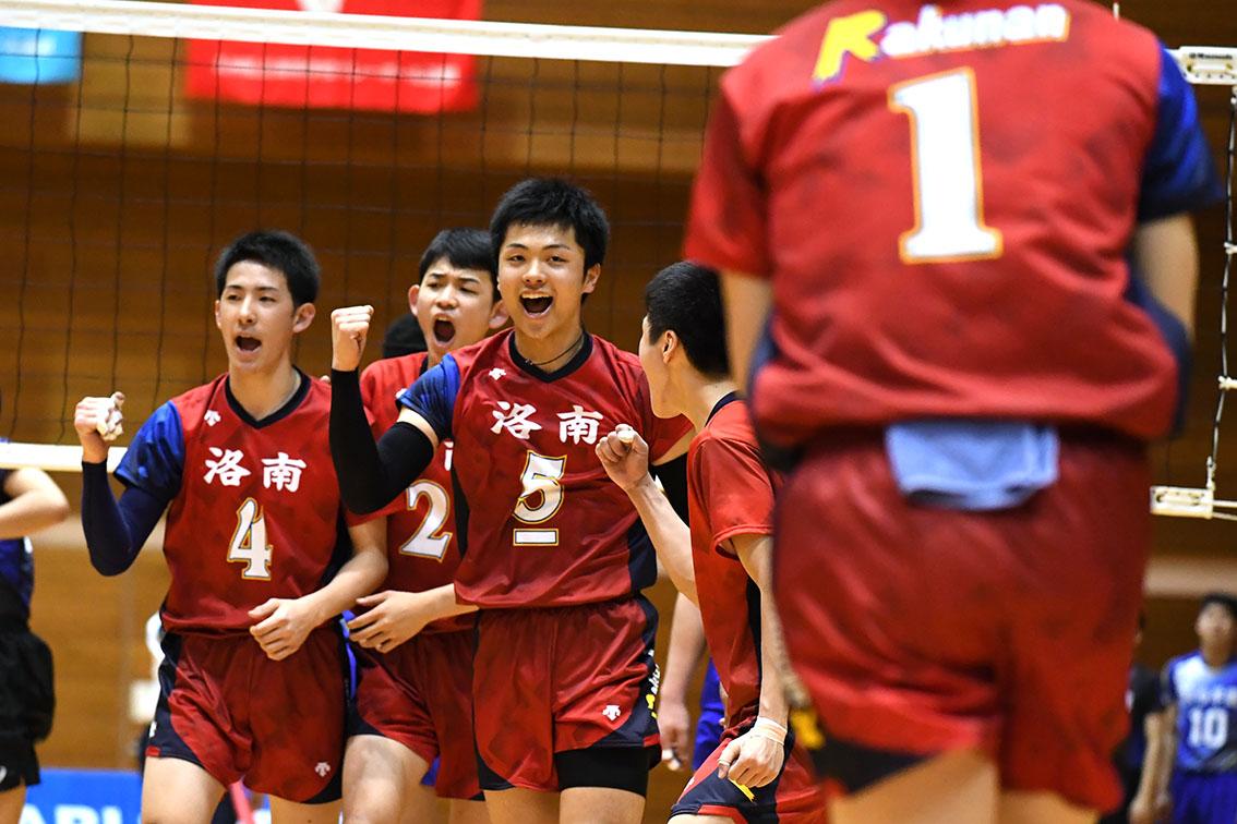 さくらバレー2018 洛南高校が2連覇!