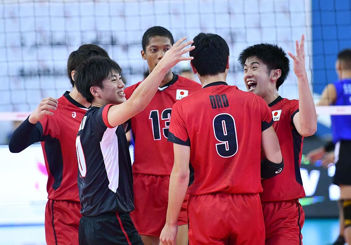 アジアジュニア男子選手権大会、初戦はストレート勝ち