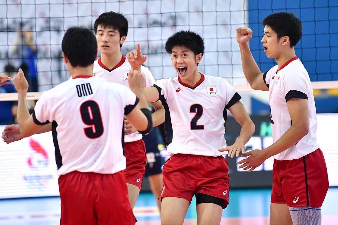 アジアジュニア男子選手権大会、2戦目もストレート勝ち