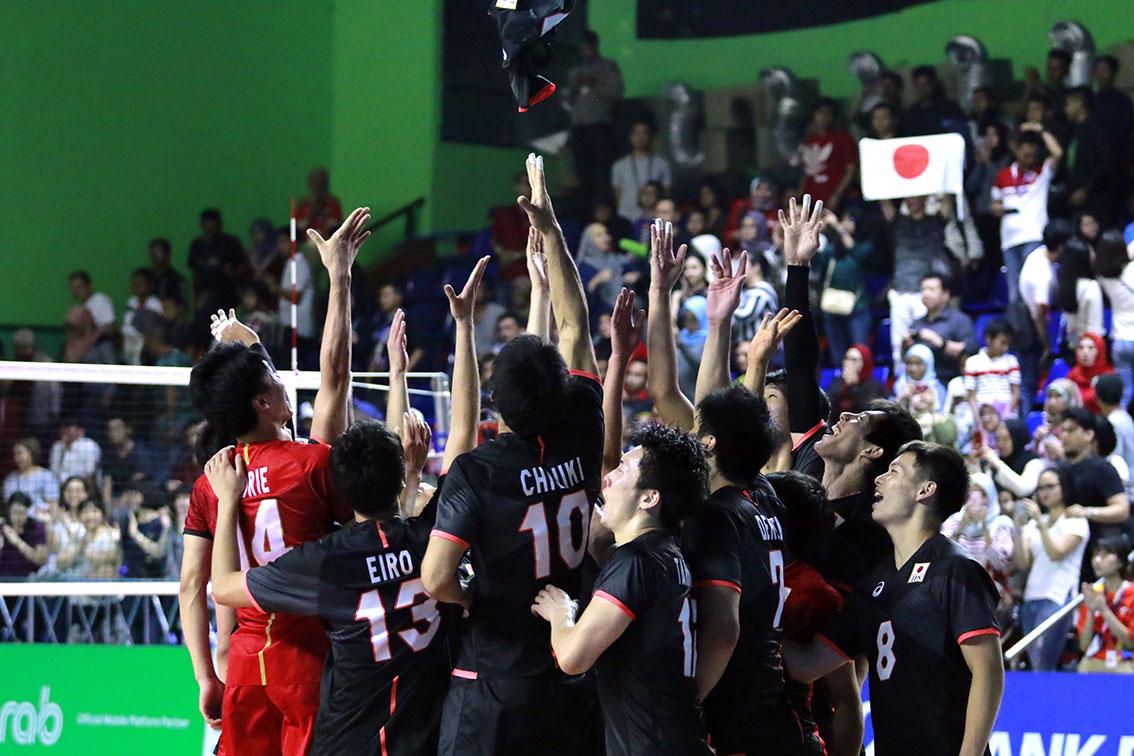 アジア競技大会、5位で終了!