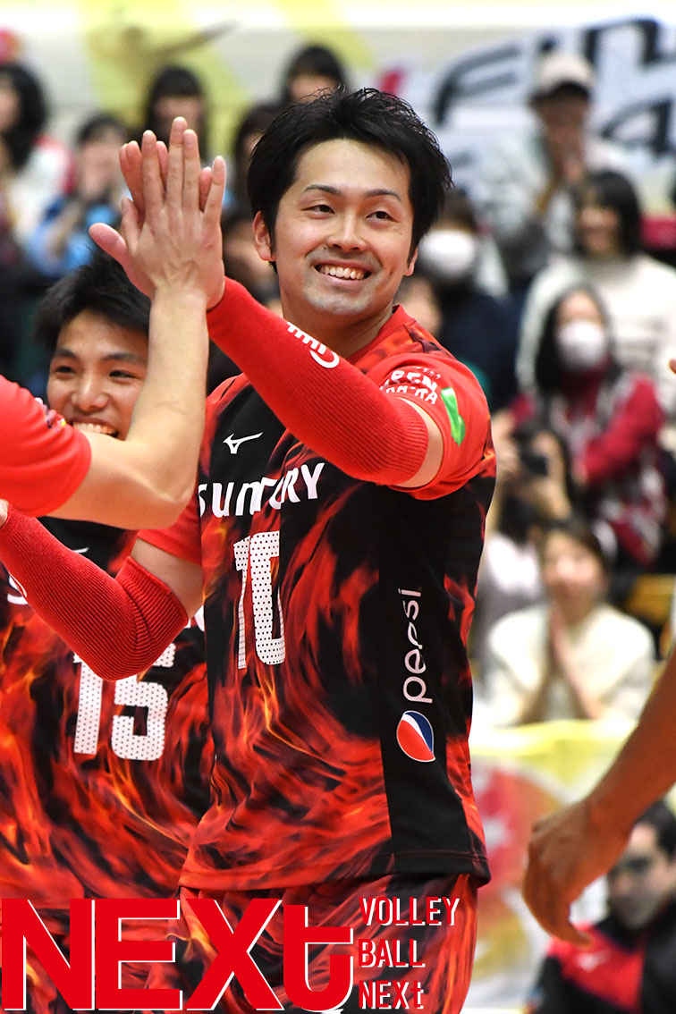 先輩・柳田将洋の背中を追ってサントリー藤中謙也がプロを選んだ理由とは