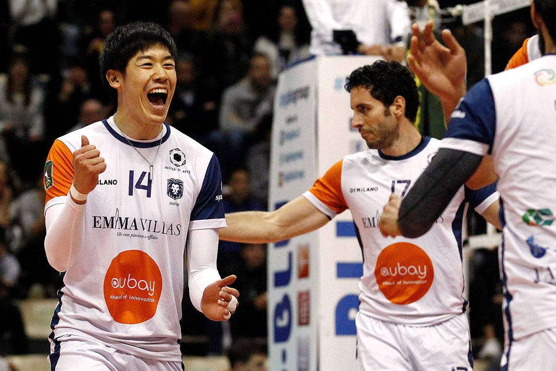 石川祐希、プロバレーボーラーとして初勝利!